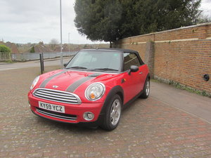 Mini Cooper Cabriolet 2009  SOLD