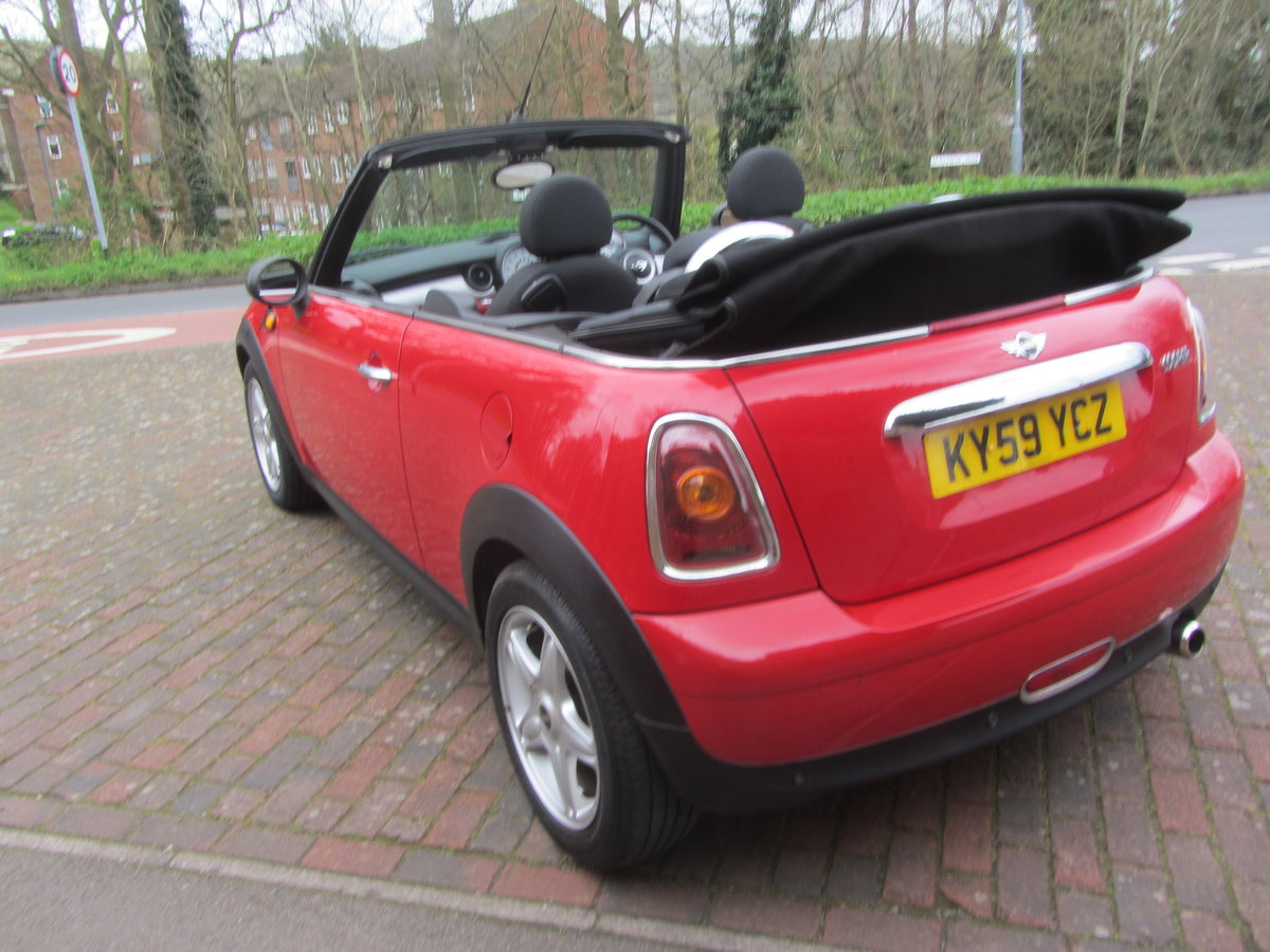 Mini Cooper Cabriolet 2009  SOLD (picture 3 of 6)