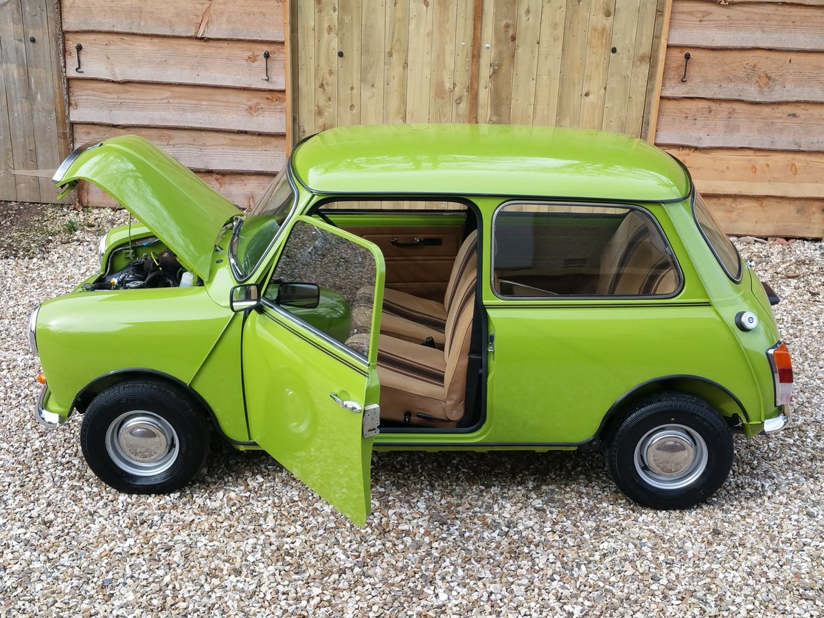 1981 Austin Mini 1000 On Just 13100 Miles From new, stunning! SOLD (picture 1 of 10)