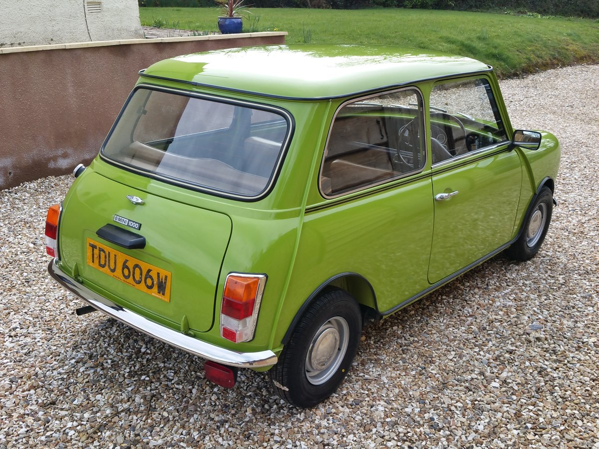 1981 Austin Mini 1000 On Just 13100 Miles From new, stunning! SOLD (picture 2 of 10)
