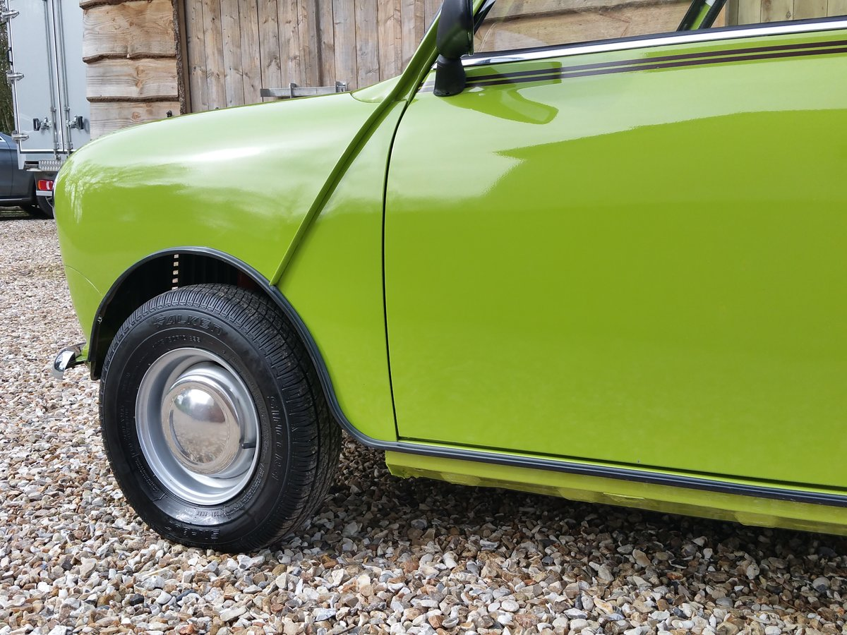 1981 Austin Mini 1000 On Just 13100 Miles From new, stunning! SOLD (picture 8 of 10)