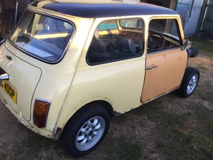 1976 Austin mini  racer project 1380