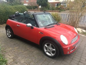 2005 Bmw mini one cabriolet