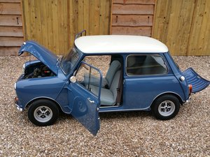 Picture of 1967 Great Mini Mk 1 Super De Luxe In Factory Island Blue. SOLD