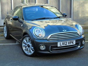 2012 MINI Coupe 1.6 Cooper (Chili) £3730 OF DEALER OPTIONS, LOOK. SOLD