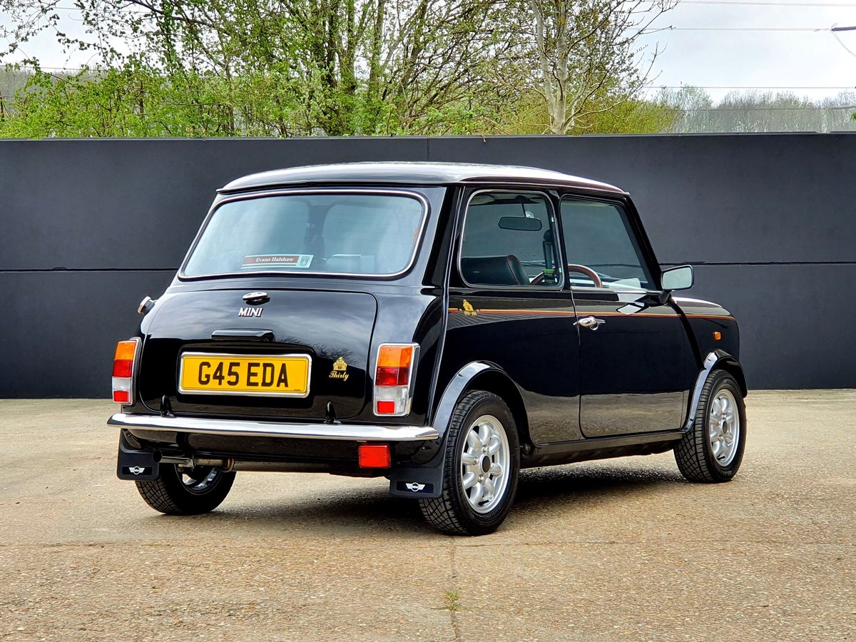 1989 Rover Mini 30 LE - 25,000 miles - CONCOURS For Sale (picture 3 of 6)