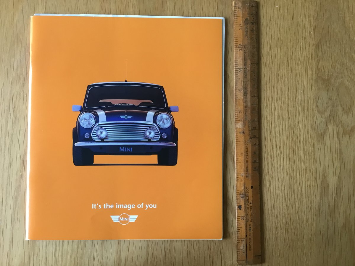 1998 Mini brochure For Sale (picture 1 of 1)