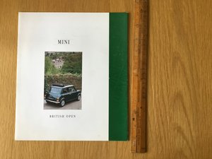 1995 Mini brochure For Sale