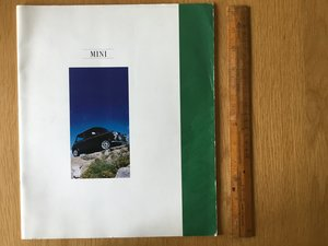 1992 Mini Cooper,sprite,Mayfair brochure