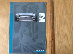 1995 Mini Studio brochure For Sale