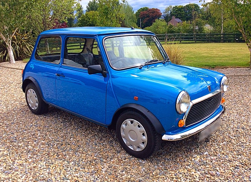 1992 ROVER MINI 1000 CITY E - 1,990 MILES FROM NEW - PX For Sale (picture 1 of 6)