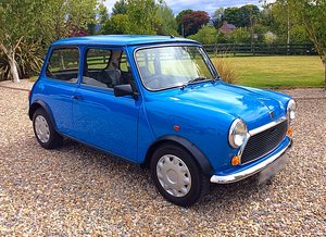 1992 ROVER MINI 1000 CITY E - 1,990 MILES FROM NEW - PX