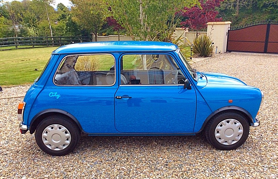 1992 ROVER MINI 1000 CITY E - 1,990 MILES FROM NEW - PX For Sale (picture 2 of 6)