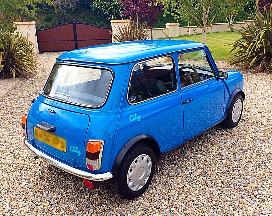 1992 ROVER MINI 1000 CITY E - 1,990 MILES FROM NEW - PX For Sale (picture 3 of 6)