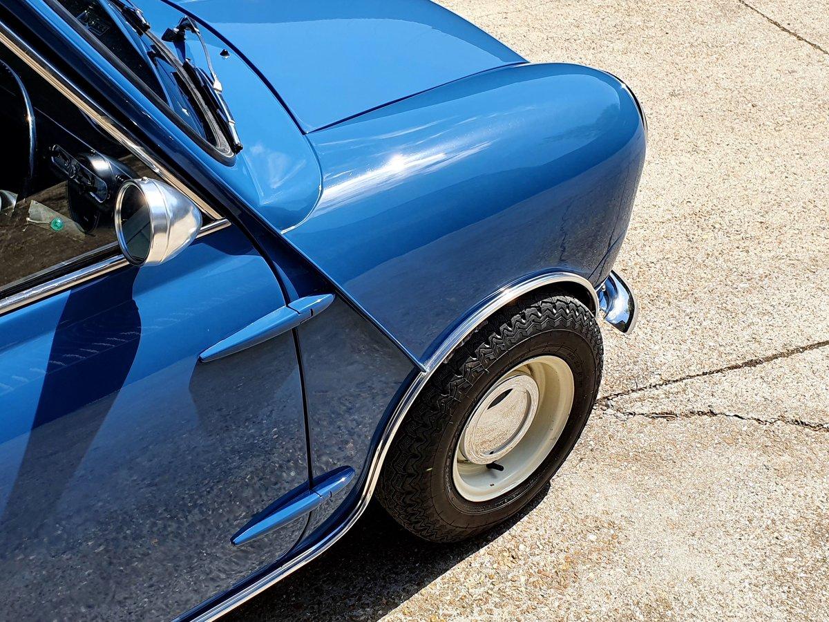 1966 Austin Mini Cooper MK1 - Island Blue 998cc For Sale (picture 4 of 6)