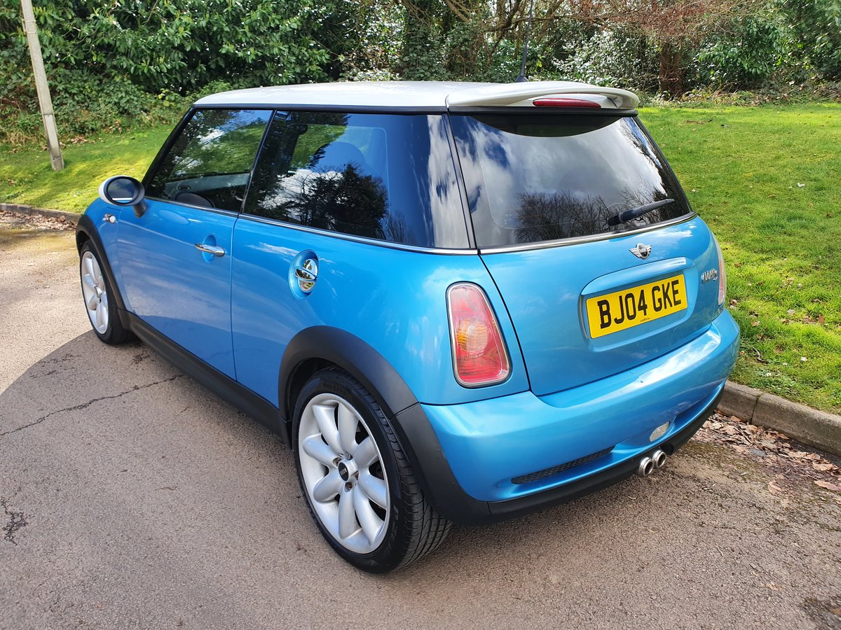 2004 Mini Cooper S.. R53.. Low Miles + Lovely Original Example SOLD (picture 5 of 6)