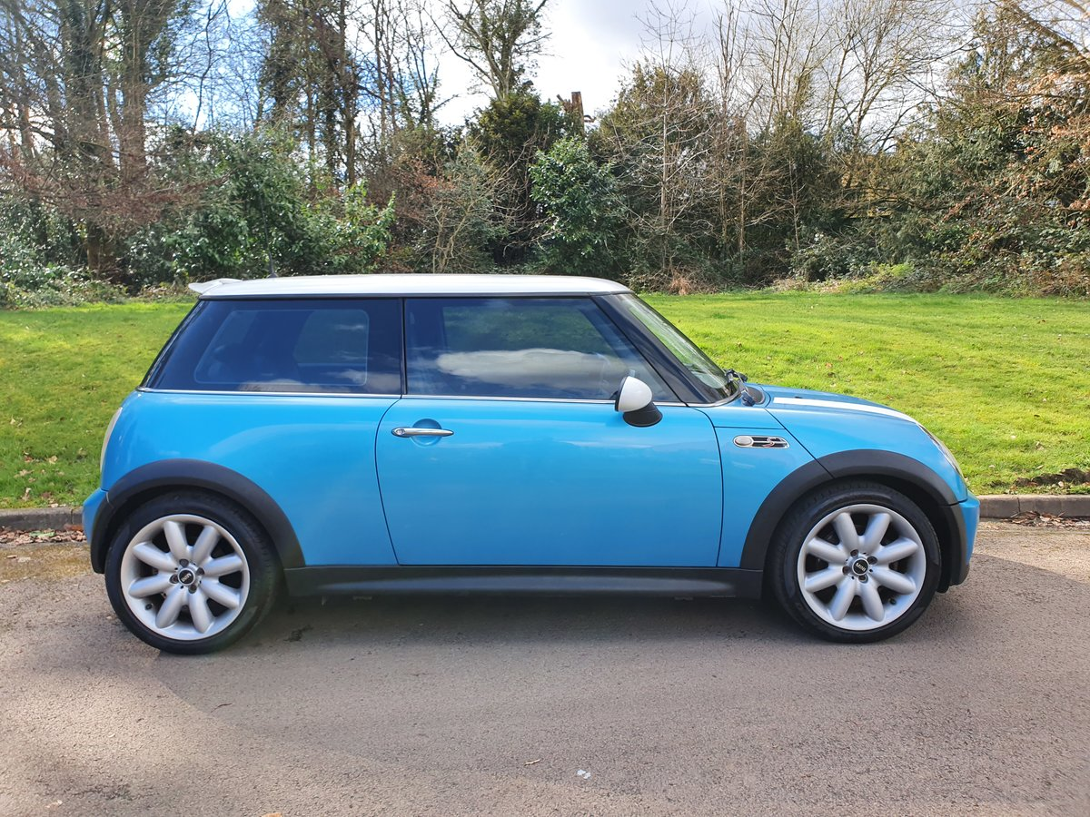 2004 Mini Cooper S.. R53.. Low Miles + Lovely Original Example SOLD (picture 6 of 6)
