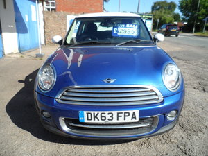 2013 CHEAP MINI 63REG SPORT COPPER PETROL 204 ,000 MILES 2021 MOT For Sale