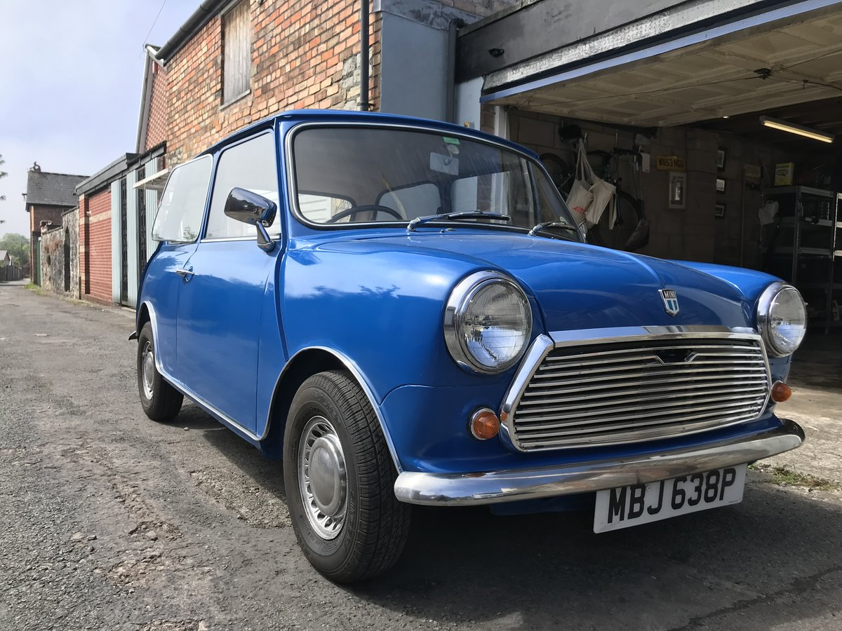 1976 Mini 1000 Time warp 11,200 miles from new SOLD (picture 1 of 6)
