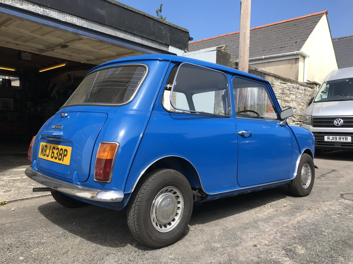 1976 Mini 1000 Time warp 11,200 miles from new SOLD (picture 3 of 6)
