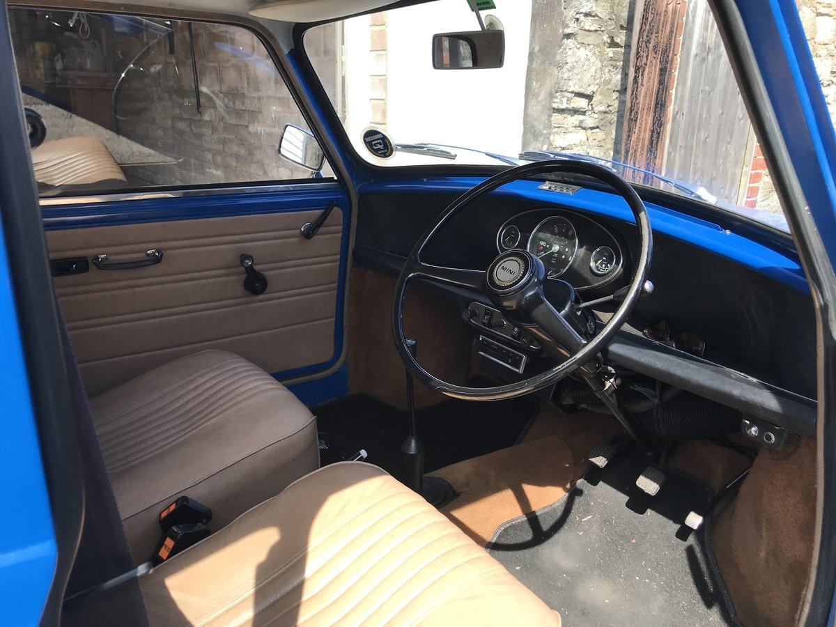 1976 Mini 1000 Time warp 11,200 miles from new SOLD (picture 6 of 6)