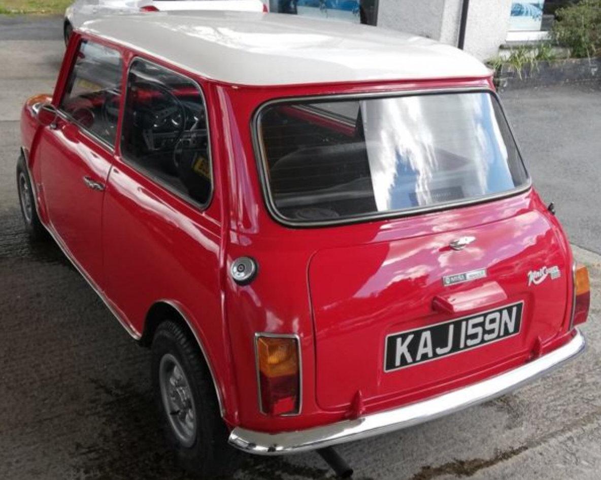 1975 Morris Mini Cooper 1300 For Sale (picture 3 of 6)