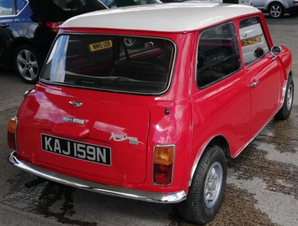 1975 Morris Mini Cooper 1300 For Sale (picture 4 of 6)