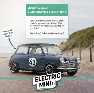 1968 Mini Classic converted to EV by Electricmini