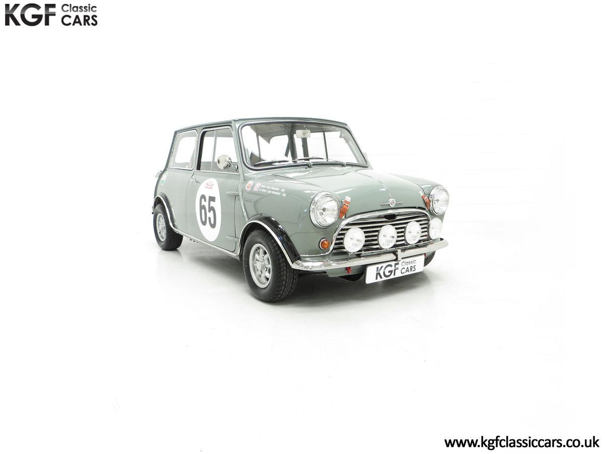 1965 A Rare Homologation Morris Mini Mk1 Cooper S 970cc For Sale (picture 1 of 24)