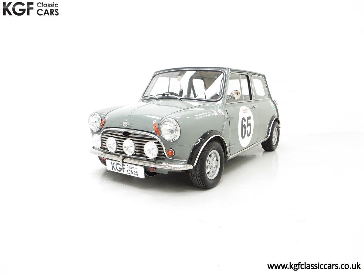1965 A Rare Homologation Morris Mini Mk1 Cooper S 970cc For Sale (picture 6 of 24)