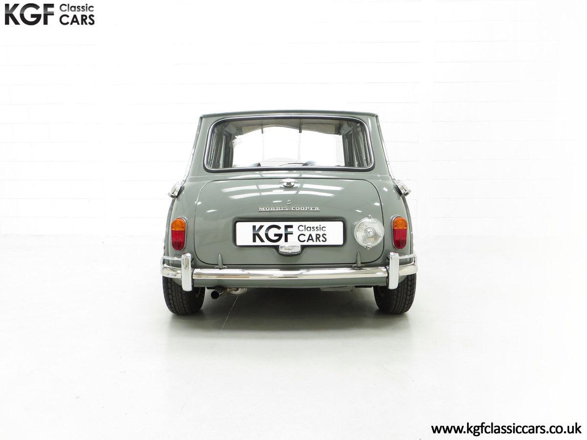 1965 A Rare Homologation Morris Mini Mk1 Cooper S 970cc For Sale (picture 10 of 24)