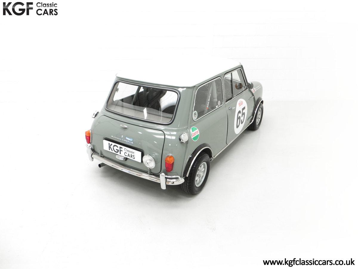 1965 A Rare Homologation Morris Mini Mk1 Cooper S 970cc For Sale (picture 12 of 24)