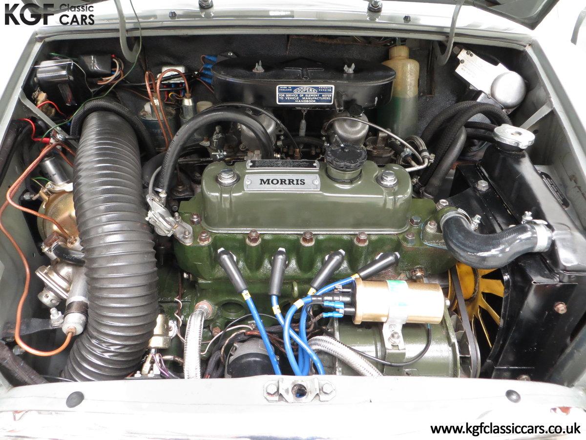 1965 A Rare Homologation Morris Mini Mk1 Cooper S 970cc For Sale (picture 16 of 24)