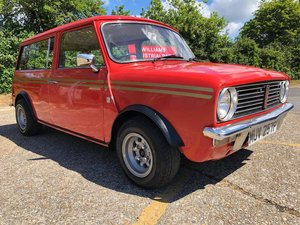 1976 Austin Mini Clubman Estate. 1100cc. Low mileage. Rare