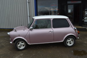 1995 pink Mini- very clean & reliable MOTed, A/C walnut