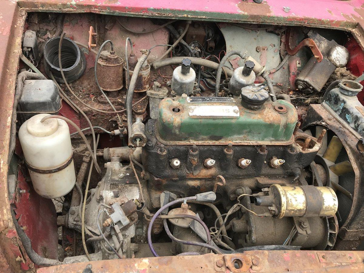 1961 Morris Cooper mk1 997 for restoration SOLD (picture 2 of 6)