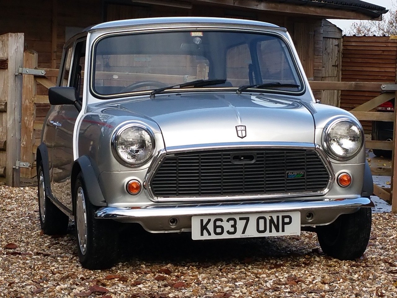 1992 'Time Warp' Mini Ritz On Just 3820 Miles From New SOLD (picture 1 of 10)
