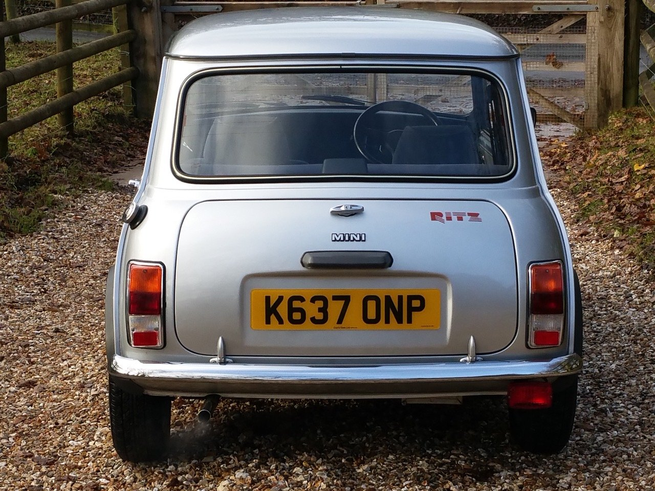 1992 'Time Warp' Mini Ritz On Just 3820 Miles From New SOLD (picture 3 of 10)