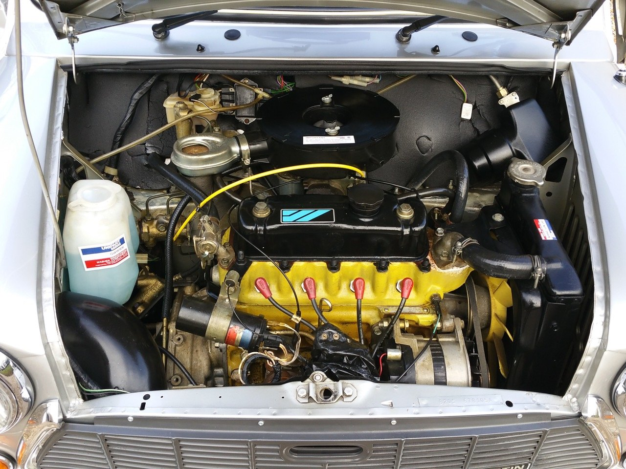 1992 'Time Warp' Mini Ritz On Just 3820 Miles From New SOLD (picture 8 of 10)