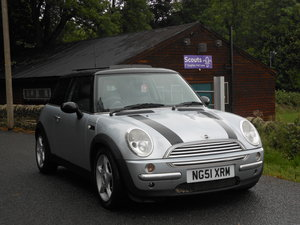2002 2001 Mini 1.6 Cooper Pan Roof + 12 Month Mot SOLD