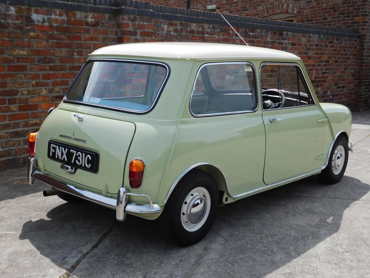 1965 Morris Mini Cooper S 1275 cc – RHD. Concours Restored  SOLD (picture 3 of 6)