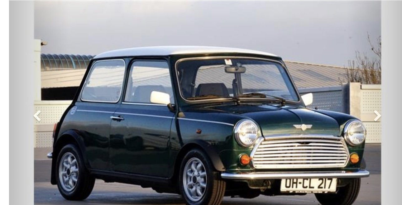 1992 Mini Cooper 43000 For Sale (picture 1 of 5)
