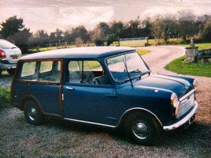 1969 Rare Mini Countryman Estate 'Woody'