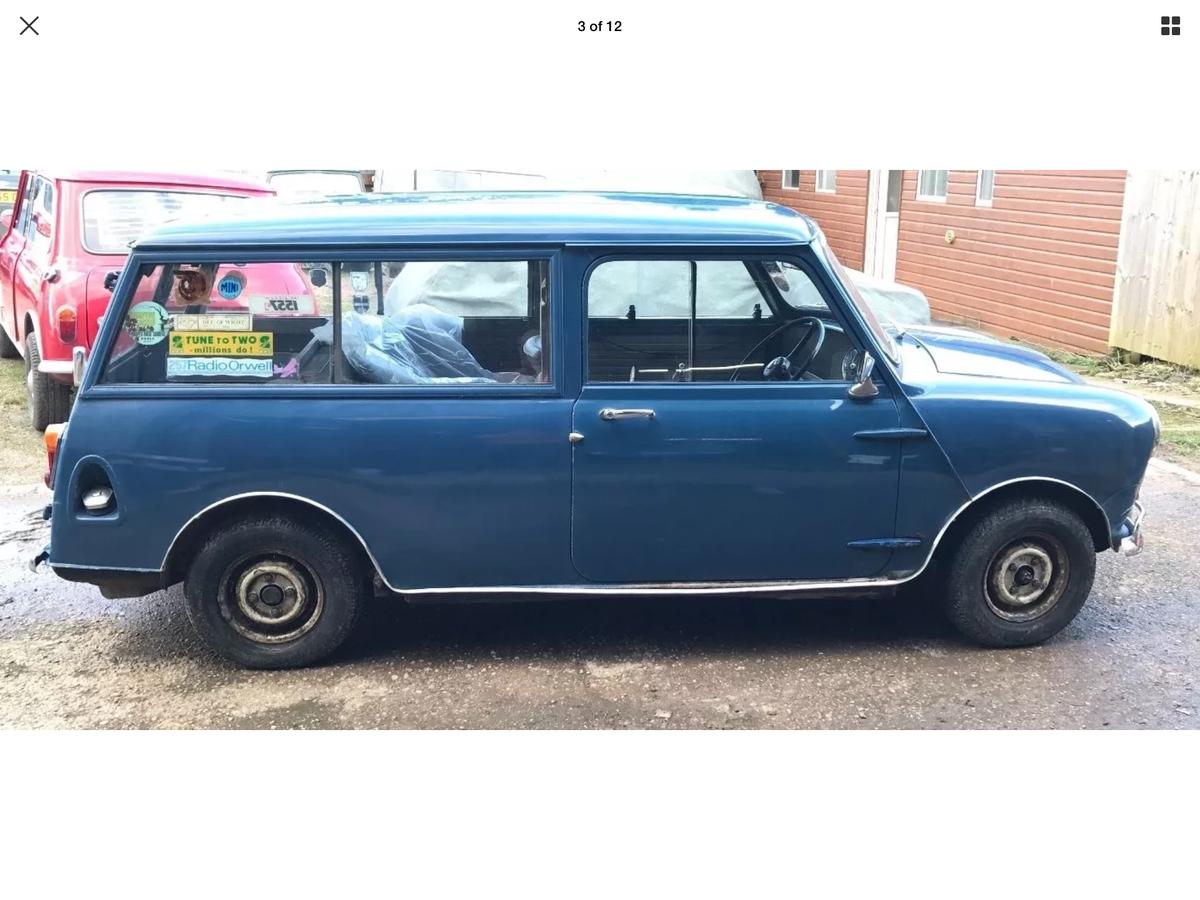 1967 MK1 Morris Mini Traveller SOLD (picture 1 of 3)