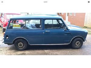 1967 MK1 Morris Mini Traveller