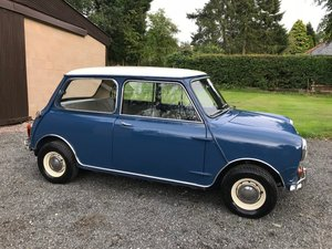 Picture of 1966 AUSTIN MINI COOPER 'S' BLUE/WHITE **RARE GARAGE FIND**