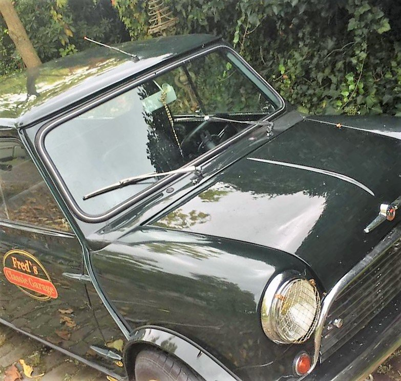 1966 Mini Pickup Left Hand Drive, extremely rare For Sale (picture 2 of 6)