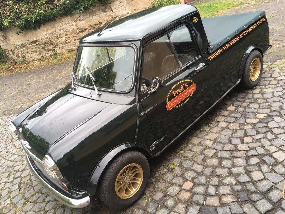 1966 Mini Pickup Left Hand Drive, extremely rare For Sale (picture 6 of 6)