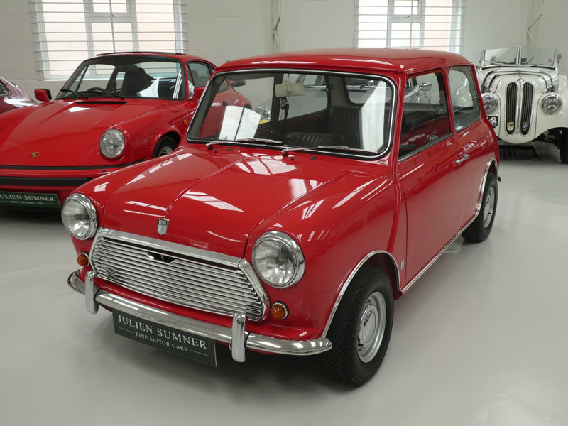 1970 Mini Cooper S MK3 - Restored with Fast Road 'Longman' Engine SOLD (picture 1 of 6)