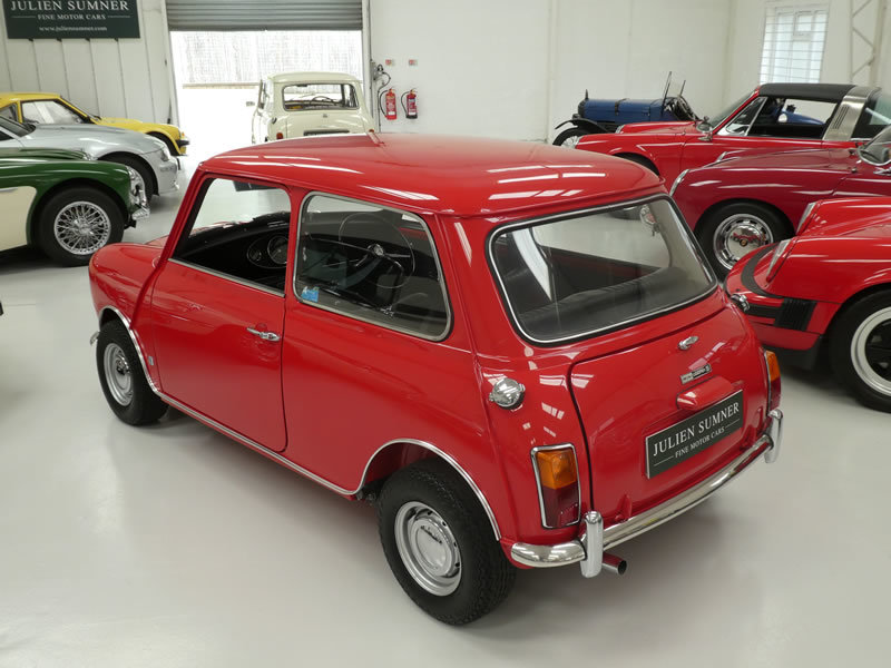 1970 Mini Cooper S MK3 - Restored with Fast Road 'Longman' Engine SOLD (picture 3 of 6)